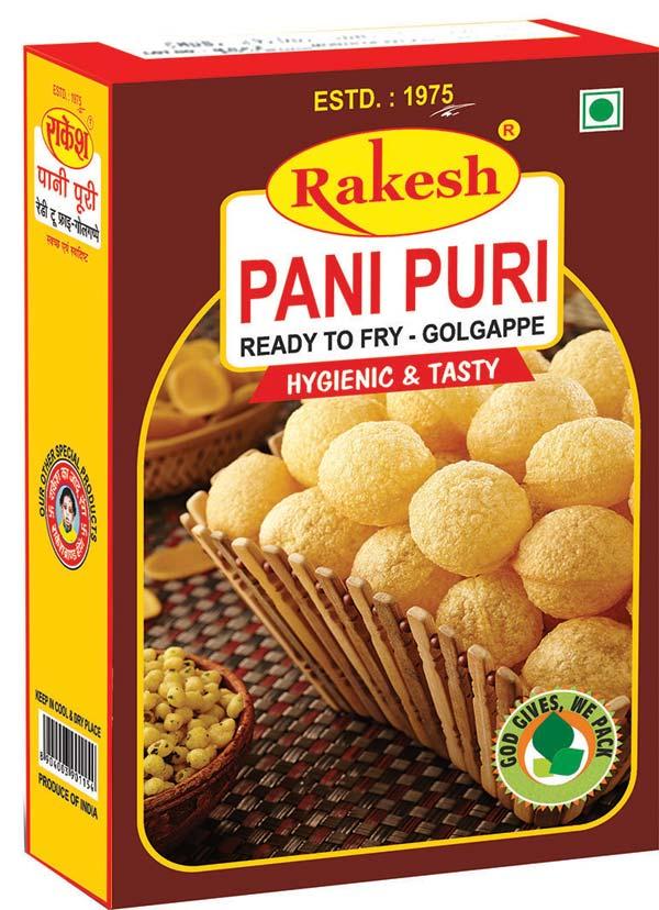 PANI PURI READY TO FRY